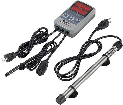 Amazon.com: Hygger - Calentador de acuario de titanio para ...