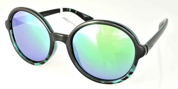 INVU Gafas de sol T2510B y verde Demi mujeres verde redondo polarizadas: Amazon.es: Ropa y accesorios