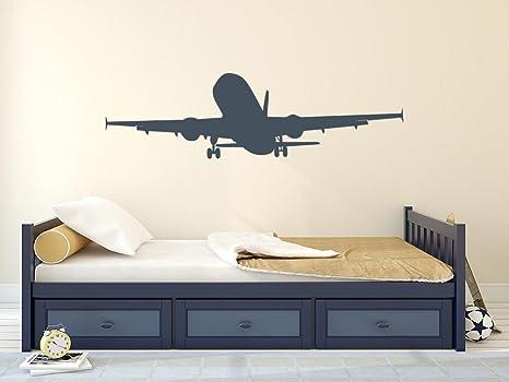 Decorazioni Per Camera Ragazzi : Adesivo da parete aereo aria decorazione per cameretta ragazzi