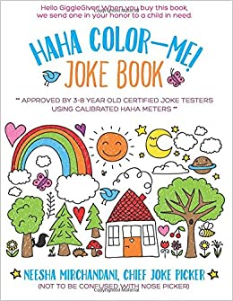 HaHa Color-Me! Joke Book (Ages 3-8): It\'s a Joke Book! It\'s a ...