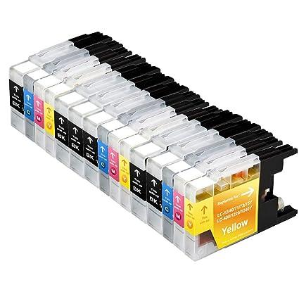 ColorFish - Cartuchos de tinta de repuesto para Brother LC1240XL ...