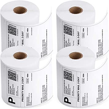 Thermal Labels in 4x3 and 4x6 Address Rolls Compatible With Many Printers 4U