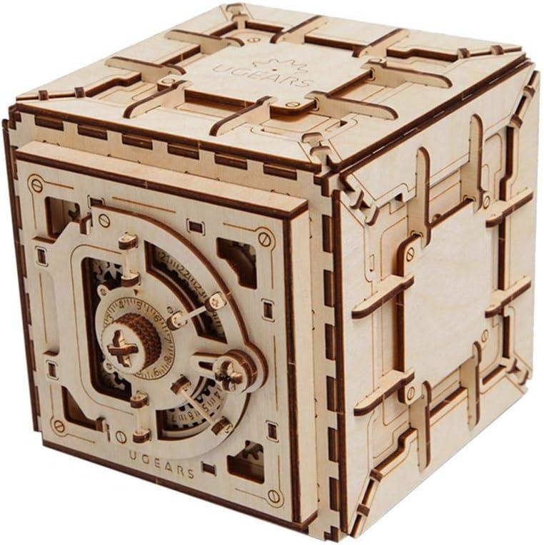 Leiyini 3D木製パズル おもちゃ 機械パズル DIYおもちゃ 木製クラフト組み立てキット 大人と子供への誕生日プレゼントに最適