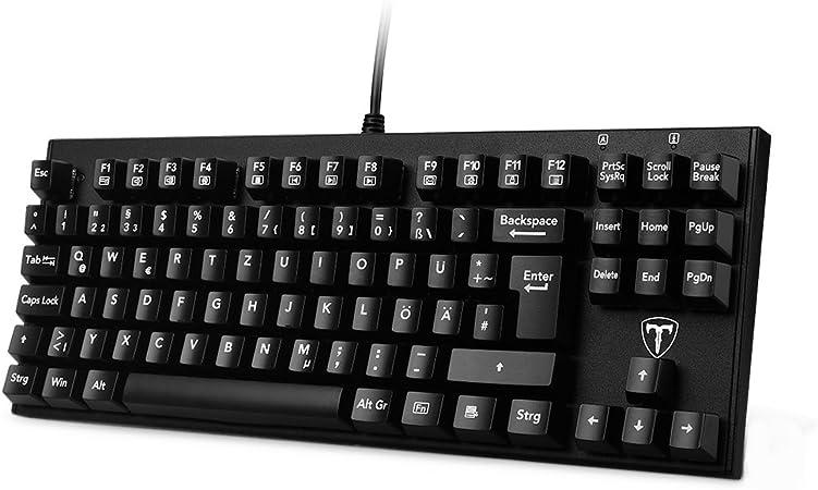 VicTsing Gaming Mecánica Teclado 87 Teclas de Mechanical Gaming Keyboard con Cable USB, Llave Cap Puller para Gamer, schreibkräfte etc. – Teclado en ...