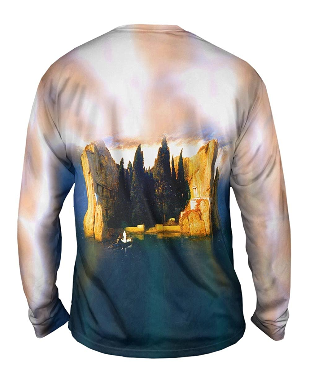 1883 -TShirt- Mens Long Sleeve Yizzam- Arnold Bocklin Island Of The Dead