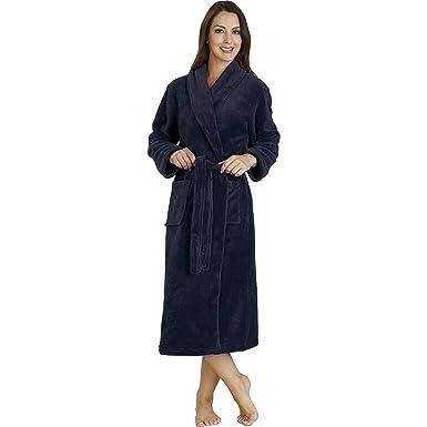 3a44f86163 Slenderella Ladies Warm Luxury Deluxe Fleece Dressing Gown