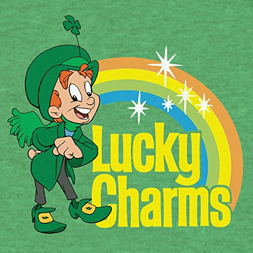 6e52140a100 Tee Luv Lucky Charms T-Shirt - Green Lucky The Leprechaun Shirt ...