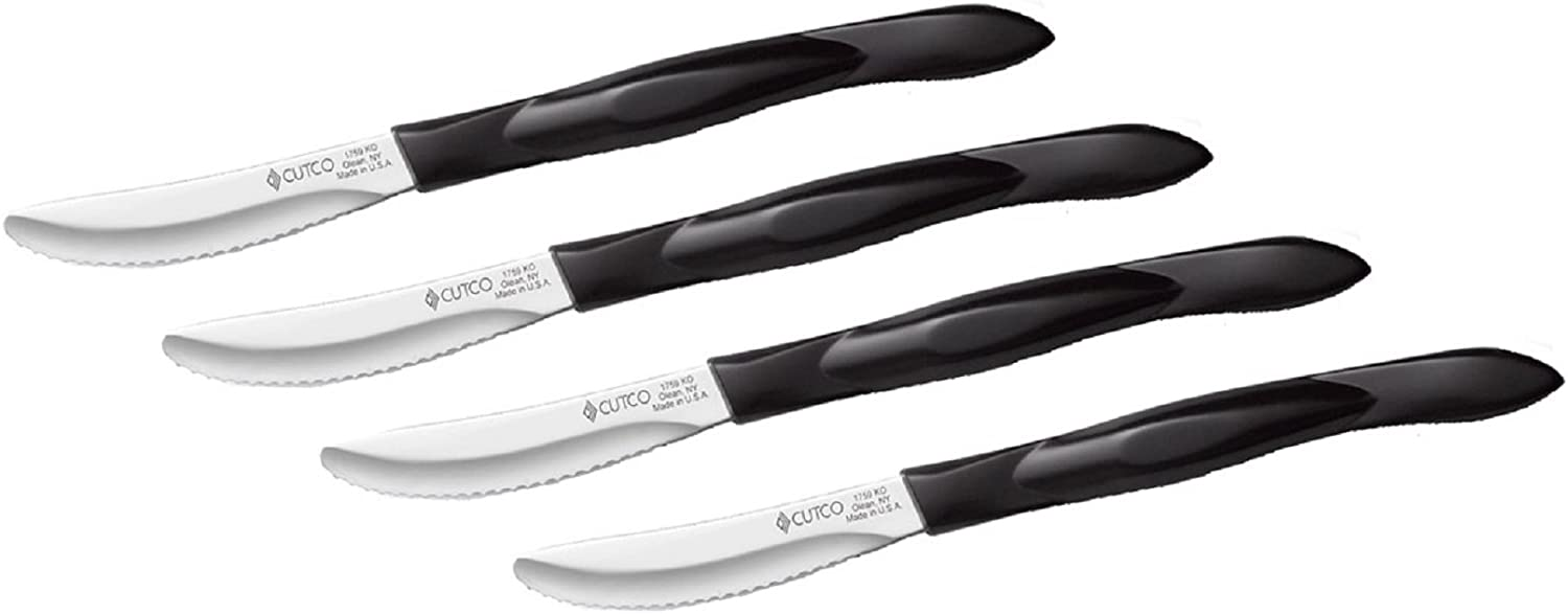 Amazon Com Cutco Knives 4 Piece Table Knife Set With Westwood Gourmet Micro Fiber Polishing Cloth 1759 With 1745 Tray Table Knives Kitchen Dining