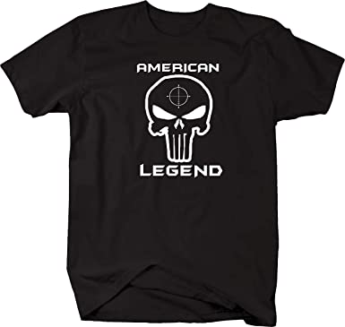 New Spike Tactical Firearms Logo Men/'s White T-Shirt Size S to 3XL