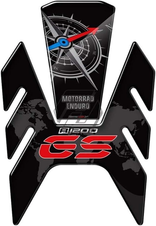 Autocollant de Moto 3D Motorcycle Fuel Gas Protection de r/éservoir Protecteur Cas for BMW R1200GS R1200GS Rallye LC 2013-2018 Color : A