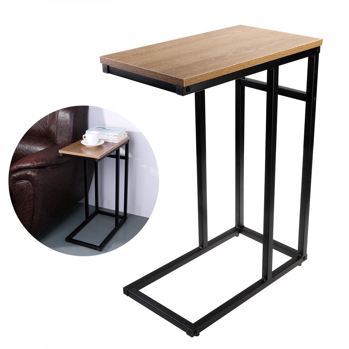 Tischchen mit rollen elegant relaxdays mit rollen runder for Schwarzer kleiner tisch