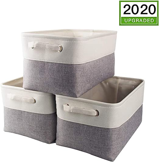 Mangata Medio Cajas de almacenaje Set de 3, cestas de almacenaje ...