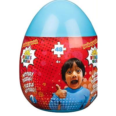 Ryans World 48-Piece Mystery Puzzle in Plastic Egg Storage Case: Home & Kitchen