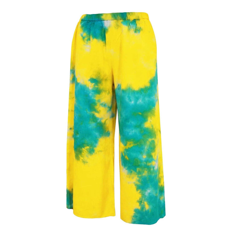 Viskose Krawatte und gefärbt Pyjamas Hipster Hose Hippie Hosen Frauen Hosen