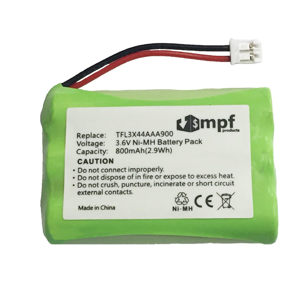 MPF Products Rechargeable Battery for Motorola Baby Monitors Replaces TFL3X44AAA900