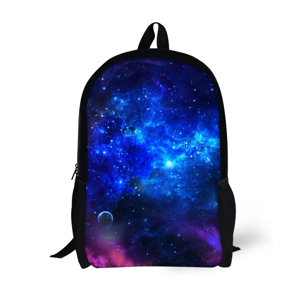 HUGS IDEA Mochila infantil, Galaxy5 (Azul) - Y-CC1300C