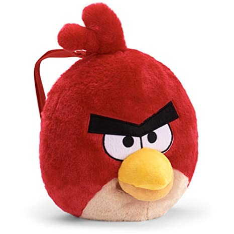 Angry Birds Plush Backpack Bird (Red)