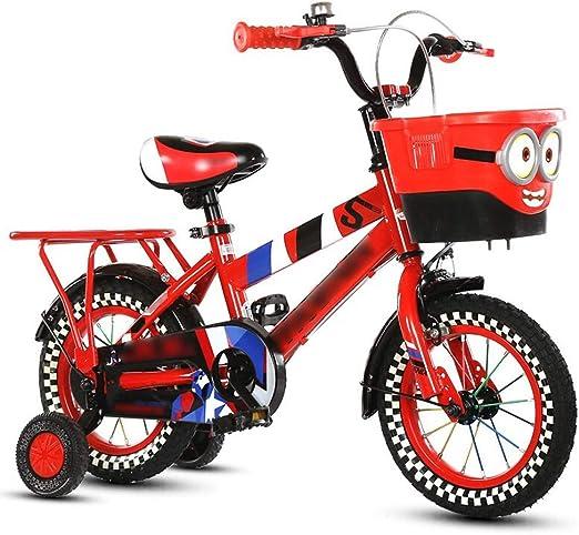 Byx Bicicleta Bicicleta Estilo libre Niños de niñas y niños Niños Bicicleta Bicicleta con estabilizadores y canasta Bicicletas de montaña Asientos de bicicleta ...