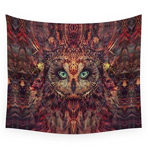 Society6 Mystic Owl Wall Tapestry Small: 51