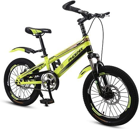 WJSW Bicicletas para niños Bicicleta para niños 18 Pulgadas 20 ...