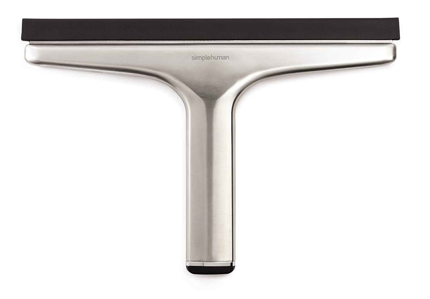 Amazon.com: simplehuman Bathroom Shower Squeegee, Stainless Steel ...
