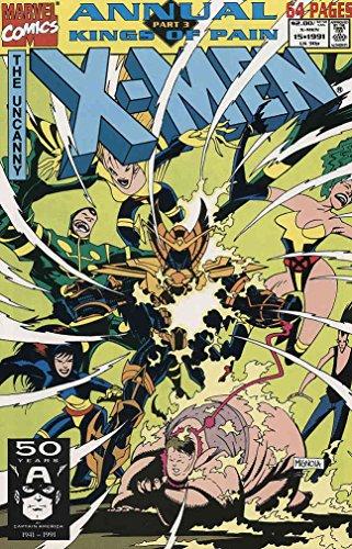 Uncanny X-Men, The Annual #15 VF/NM ; Marvel comic book -