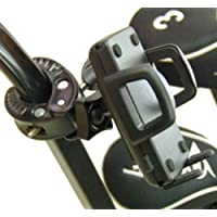 BuyBits Deluxe Golf Trolley GPS Clamp Mount for Izzo Golf Swami 4000