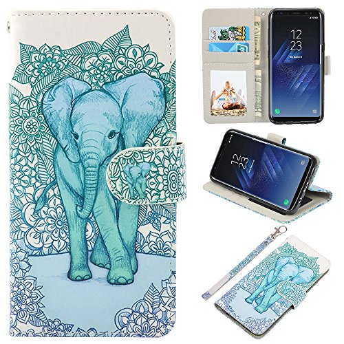Galaxy S8 cell phone wallet case