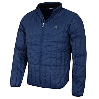 067cfa443d Lacoste Mens Built-in Hood Quilted Jacket
