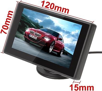 Bw Auto Parken Unterstützung Monitor 4 3 Zoll Tft Lcd Elektronik