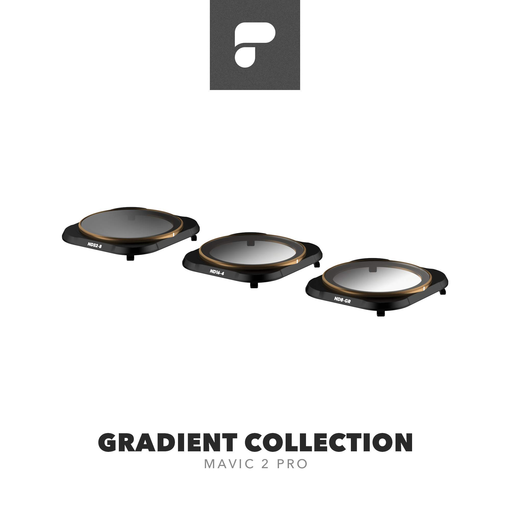 PolarPro Gradient Collection (ND8-GR, ND16-4, ND32-8 Filters) Cinema Series for DJI Mavic Pro 2 Filters by PolarPro