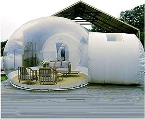 LFDHSF Transparent Tent, Garden Igloo 360 Dome, Tent Family Camping Backyard
