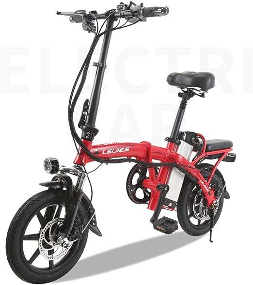 FJW Unisexo Mini Bicicletas Eléctricas 14