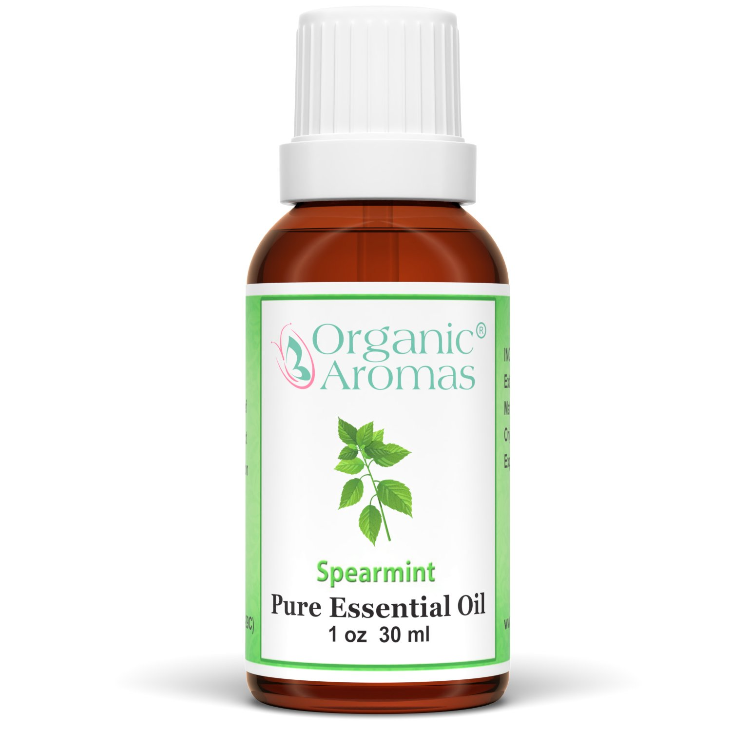 Spearmint Essential Oil 100% Pure for Professional Aromatherapy - Therapeutic Grade - Works well with Organic Aroma Diffusers - 30 ml bottles