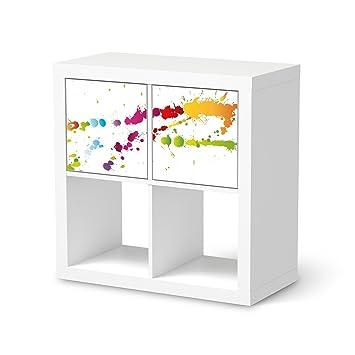 Creatisto Dekoration Für Ikea Kallax Regal 2 Türelemente Querformat