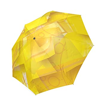 wokfox Post It Custom Cool diseño portátil moda paraguas plegable paraguas de viaje