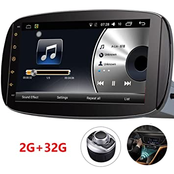 Android Auto Radio D-NOBLE Autoradio GPS para Coche 9 Pulgadas 1024x600 Navegación del Coche