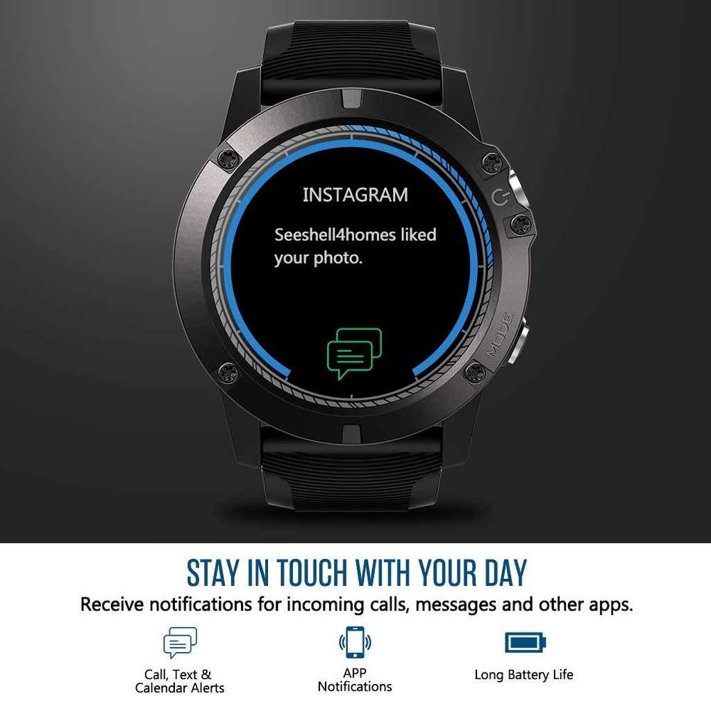 Amazon.com: Smartwatch Tactical V5 Touch Screen Smart Watch ...
