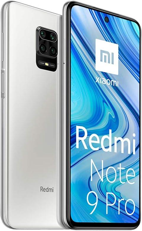 Xiaomi Redmi Note 9 Pro - 128GB + 6GB RAM, 4G, Dual Sim, Glacier White
