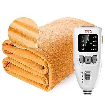 Amazon.com: Shi xiang shop Manta eléctrica de felpa ultra ...