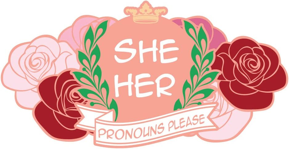 Cars Dark Spark Decals They Them Pronouns Please 4 Inch Full Color Vinyl Decal for Indoor or Outdoor use Laptops Windows and More D/écor