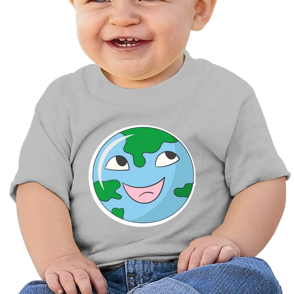 Arsmt Baby Boys Toddler//Infant Childrens Cute Earth Fcae Shirts