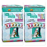 24 Pack of Weruva Dogs in the Kitchen Grain-Free Wet Dog Food Pouches 2 Box Bundle 4 ea. of 6 Great Flavors (Fast Delivery)