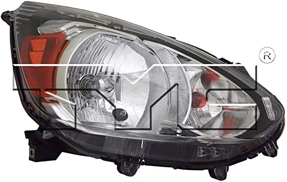 TYC 20-9681-00-1 Replacement Right Head Lamp Compatible with Mitsubishi Mirage