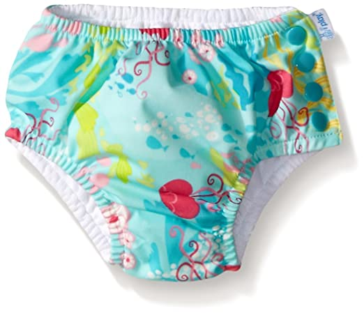 i play. Baby Girls' Ruffle Snap Reusable Absorbent Swim Diaper Review