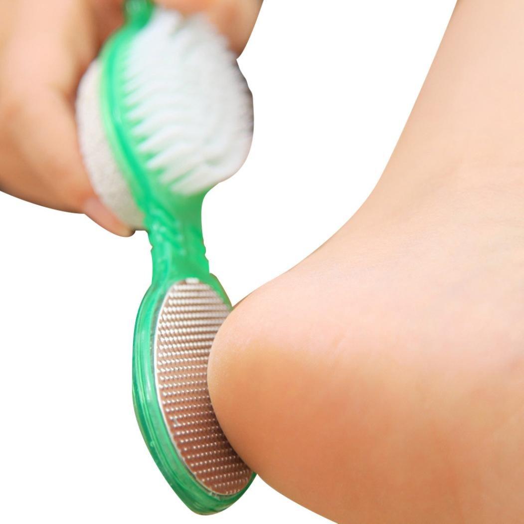 TAOtTAO Cepillo para eliminar la piel muerta de piedra pómez y pedicura