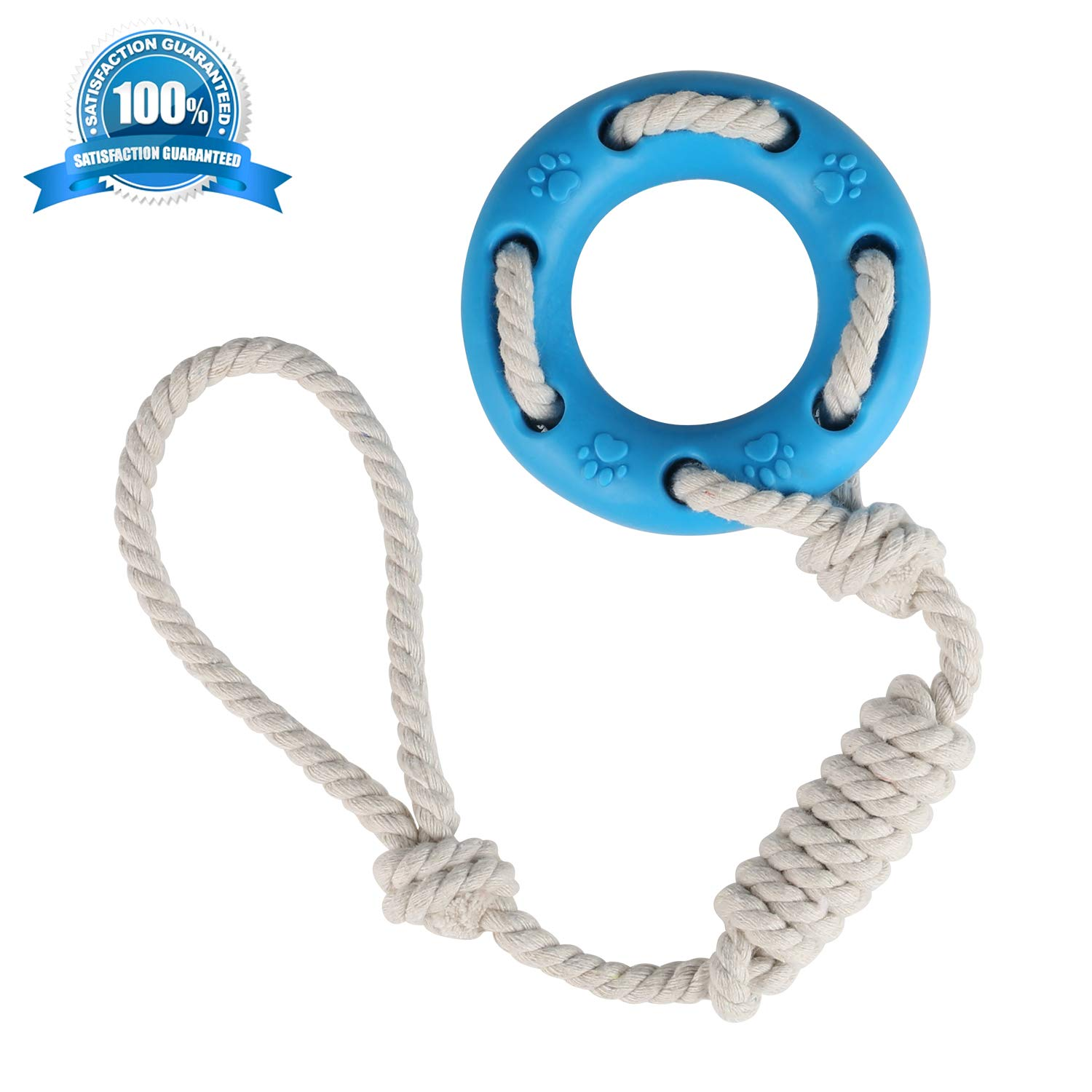 KAOSITONG Dog Chew Toy - Interactive Cotton Rope Toys Small Medium Large Dogs - Safe Non-toxic - Effective Tooth Cleaning