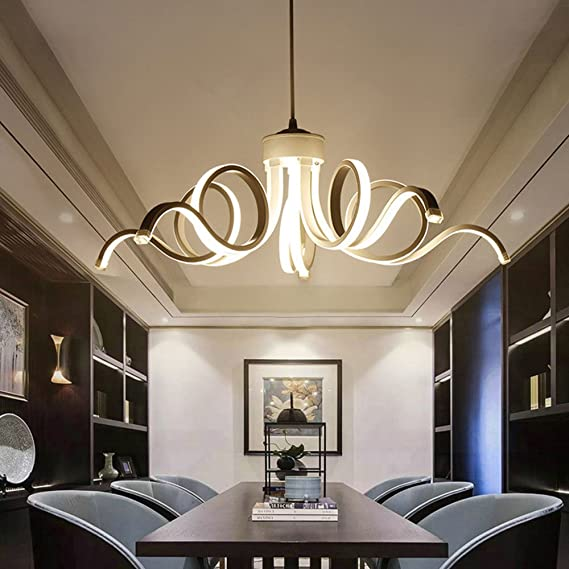 Amazon.com: TY BEI - Lámpara de araña de arte pos-moderno ...