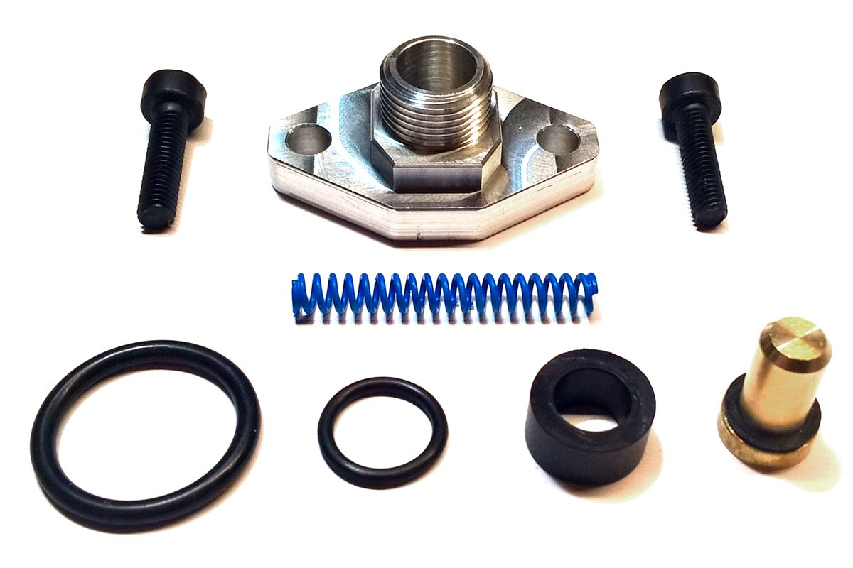 TamerX Fuel Pressure Regulator Valve Cap & Blue Spring for Ford Powerstroke 7.3L 1998-2003