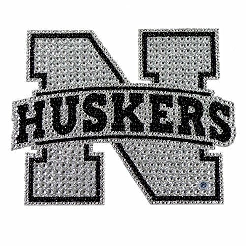 - NCAA Nebraska Bling Emblem, One Size, One Color